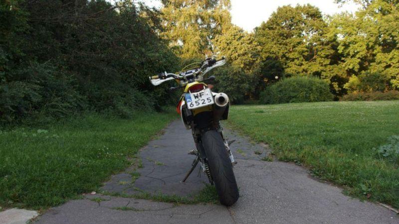 Motocykl SUZUKI DRZ DR-Z 400 SM K5 Supermoto A2