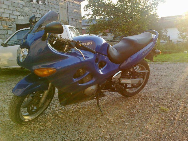 Sprzedam Motocykl śliczne Suzuki gsx600f