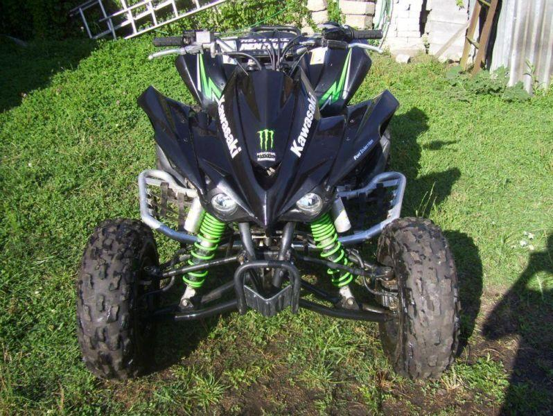 Kawasaki KFX 450 R Black Monster STAN BARDZO DOBRY