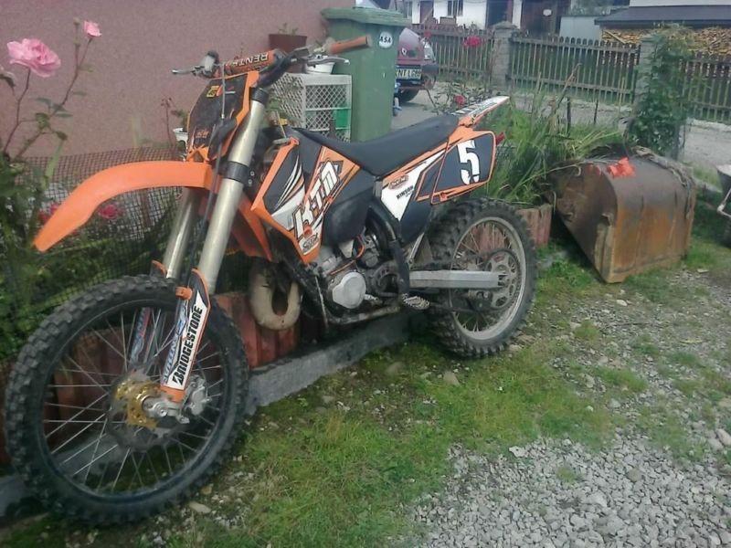 SPRZEDAM KTM 125 2003r