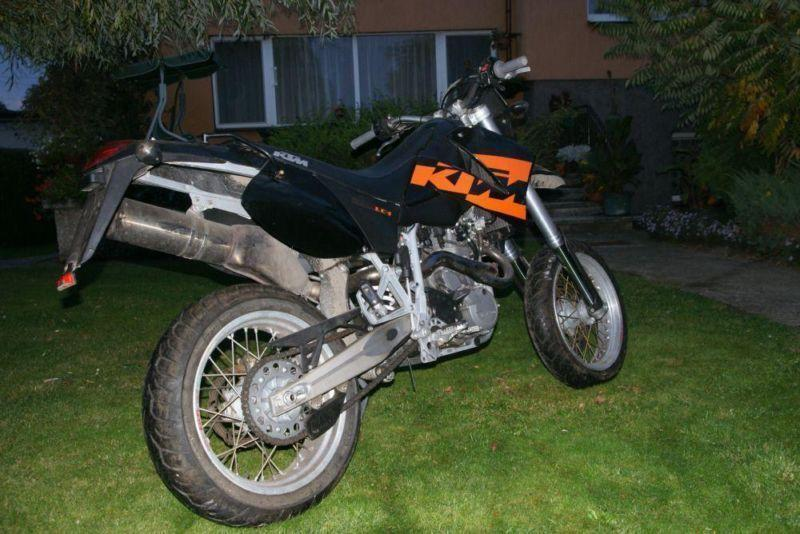 KTM LC4 640 Supermoto