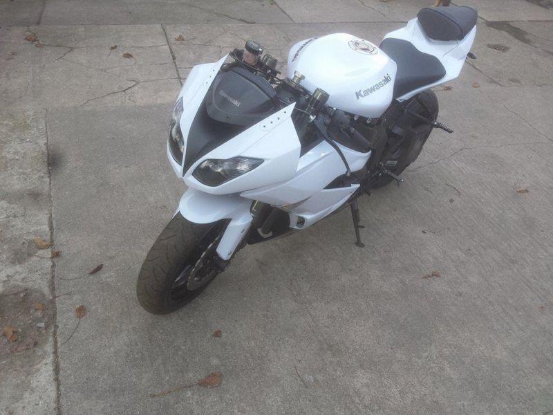 Kawasaki ninja zx6r zamiana z750.z1000