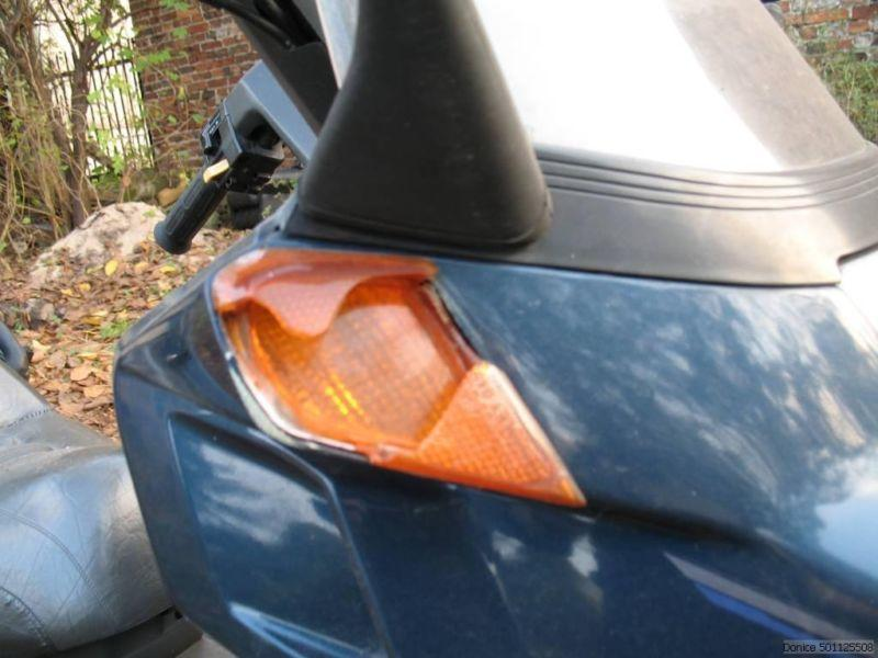 Honda Helix uszkodzony silnik, części