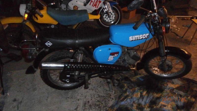 Simson s51 electronic pilne nie mz po remoncie silnika mz jawa