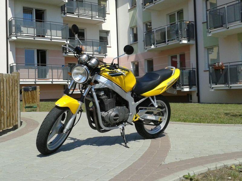 GS 500 Stan idealny!!!