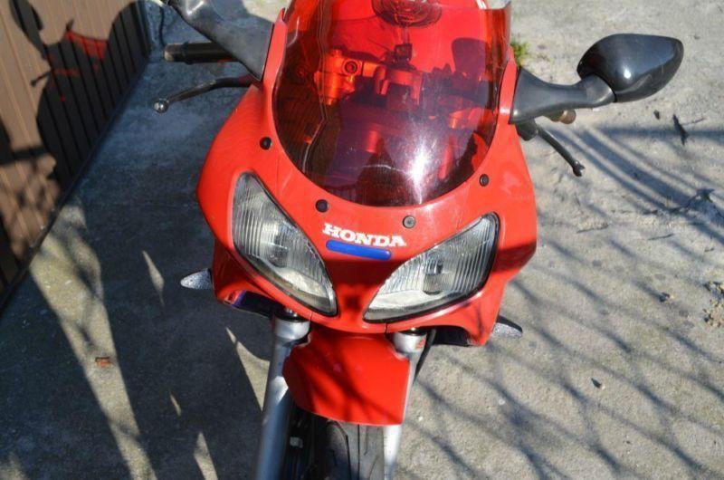 Honda NSR 125/50 na karte motorowerową
