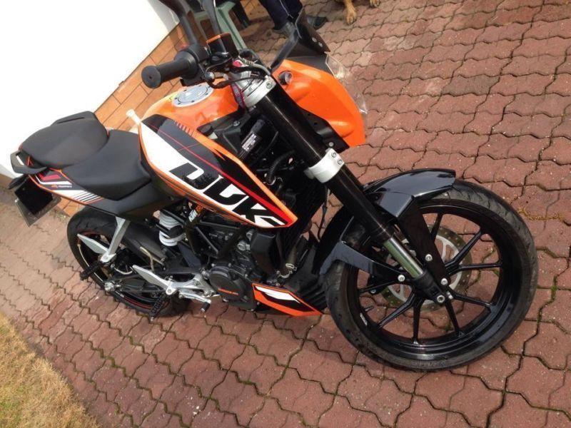 KTM DUKE 200 2013R