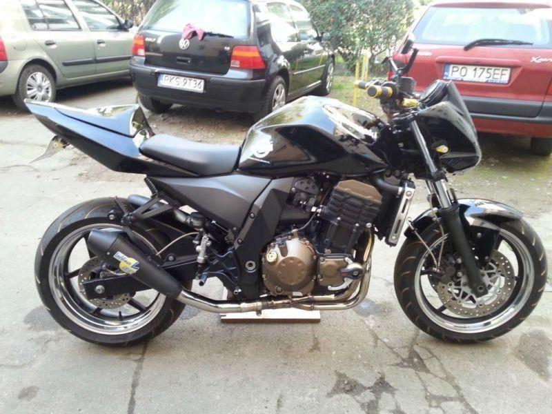 Piękna Z 750 od motocyklisty ZAPRASZAM