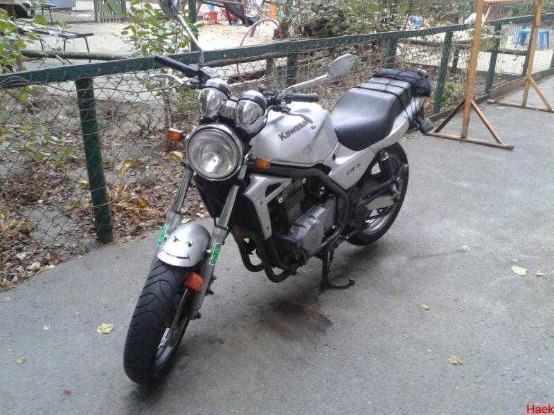 Kawasaki ER5 - Alarm - Warszawa