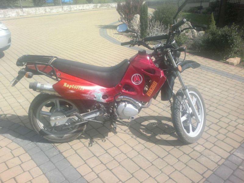 Sprzedam motocykl 125 cm