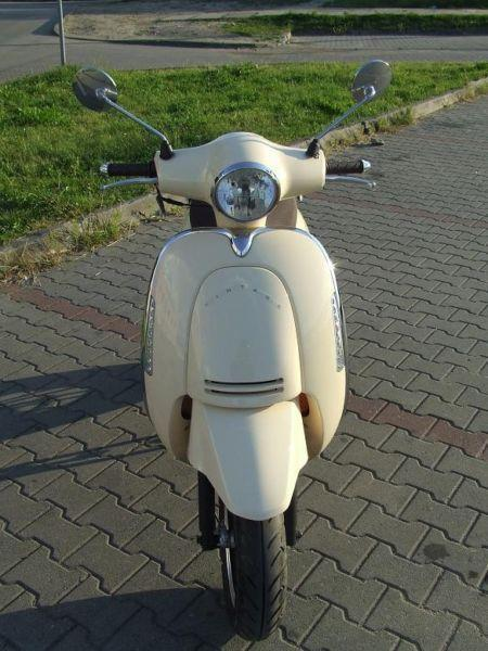 Skuter Retro Junak Vintage 50ccm JAK VESPA