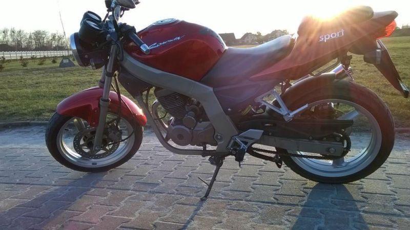 MOTOCYKL Daelim Roadwin Vj 125 SUPER STAN!!! *ZOBACZ*