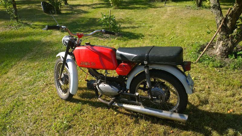 MOTOROWER JAWA 50