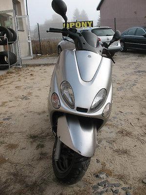 Yamaha Majesty 125 2005r. Gwarancja