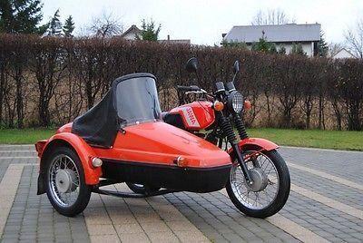 JAWA 350 TS z wózkiem bocznym VELOREX Stan BDB Okazja!!! Legendy PRLu