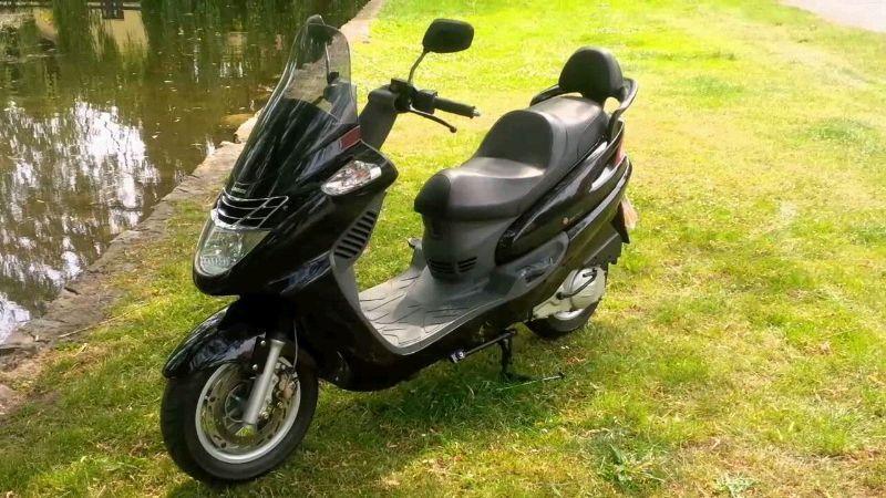 Kupię skuter maxi skuter 125 -  i okolice