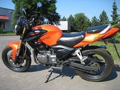Motocykl ZIPP NITRO 250 Kategoria A2