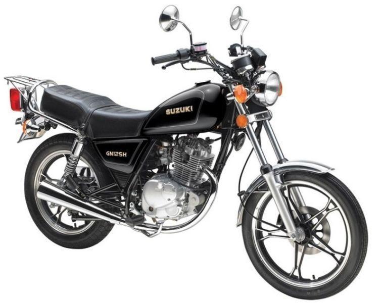Sprzedam motocykl Suzuki GN 125