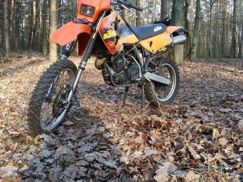 1998 KTM lc4 620 egs limited