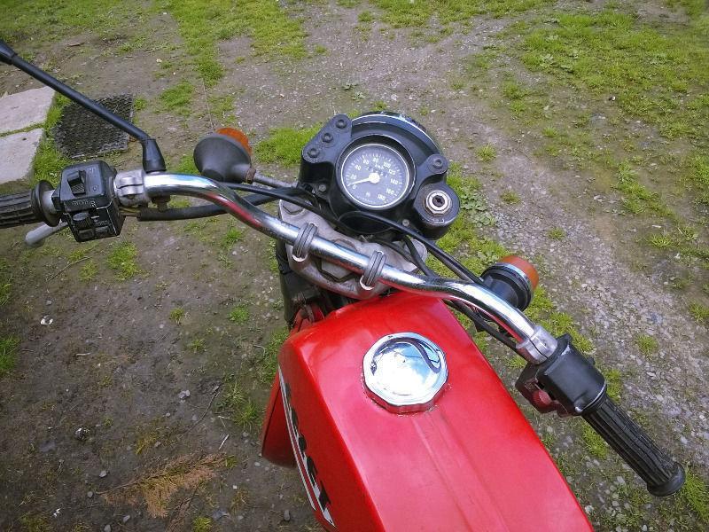 Motocykl CZ 175 (Jawa Cezet) r.1987