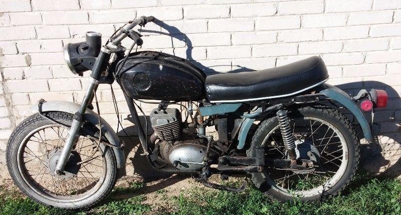 WSK 125 KOS, motocykl MOTOR 175 jawa romet junak mz komarek