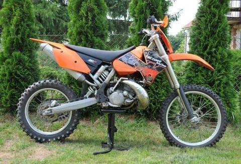2006 KTM EXC 200 Zarejestrowany