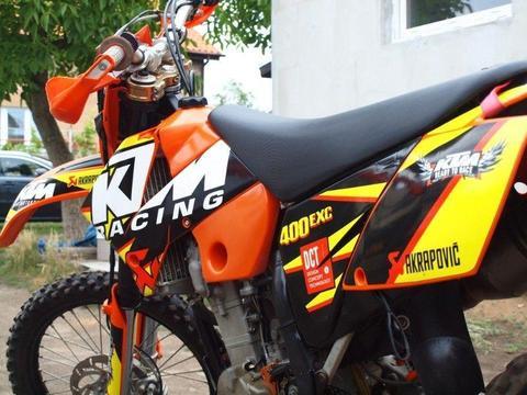 KTM EXC400 Akrapovic