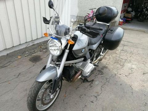 2009 BMW R1200R motocykl zwiedzanie naked