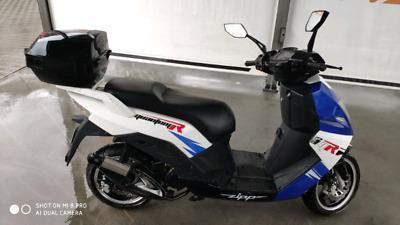 Duży skuter ZIPP 50ccm. 2011r. Serwis!! Nowy PT!! Pilot!!