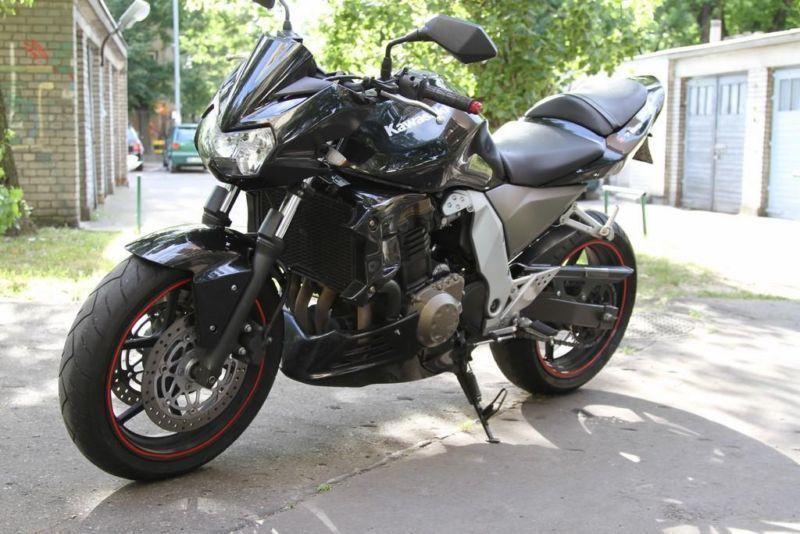 Kawasaki Z750 2007 rok