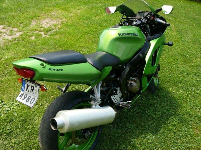 Kawasaki ZX6R 2000 r.