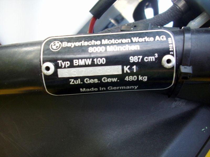 BMW K1 ! 1989 r ! 1000 cm3 ! UNIKAT ! Sprawny !