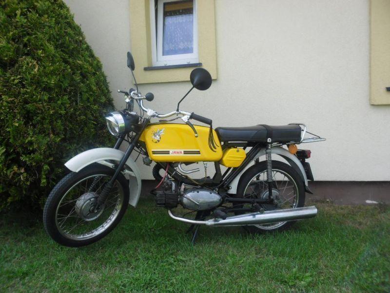 Jawa 50 Mustang PO REMONCIE Z DOKUMENTAMI