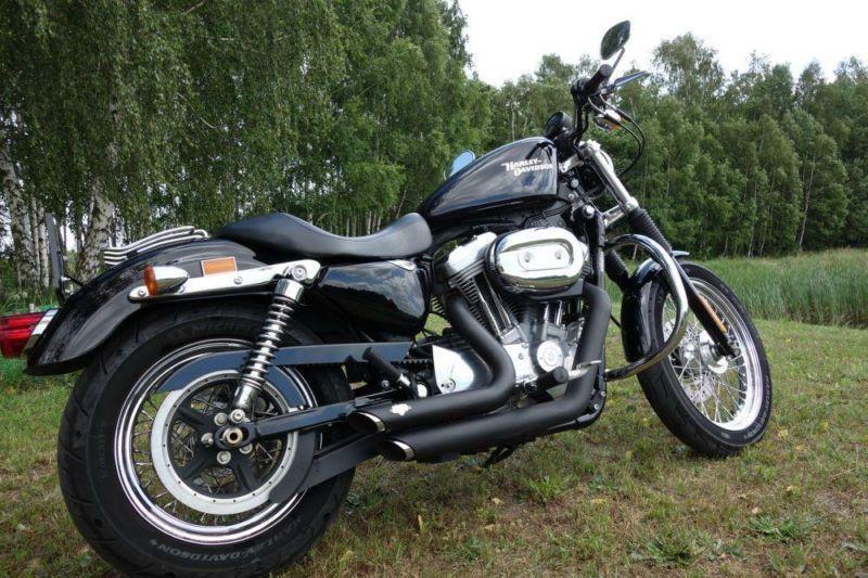 Harley-Davidson XL883 Sportster Vance&Hines 2008
