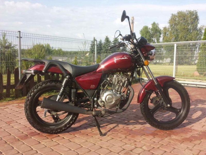 JUNAK 121 124cm3, chopper
