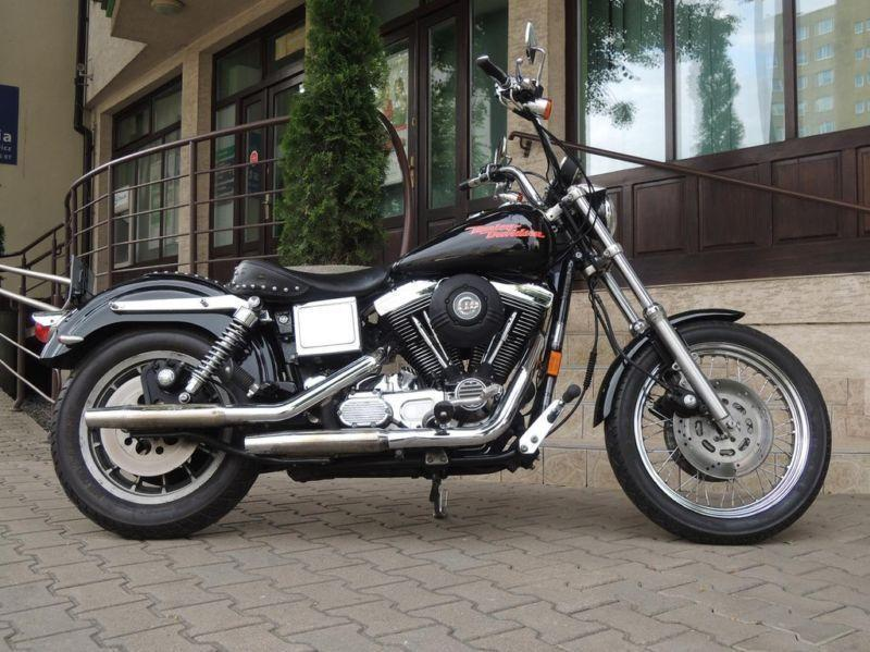 Piękny Harley-Davidson Dyna na Evolution żadki model FXDS !