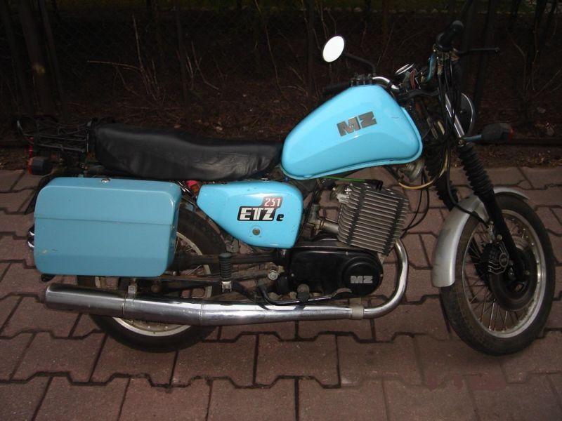 MZ ETZ 251 (Policyjna)