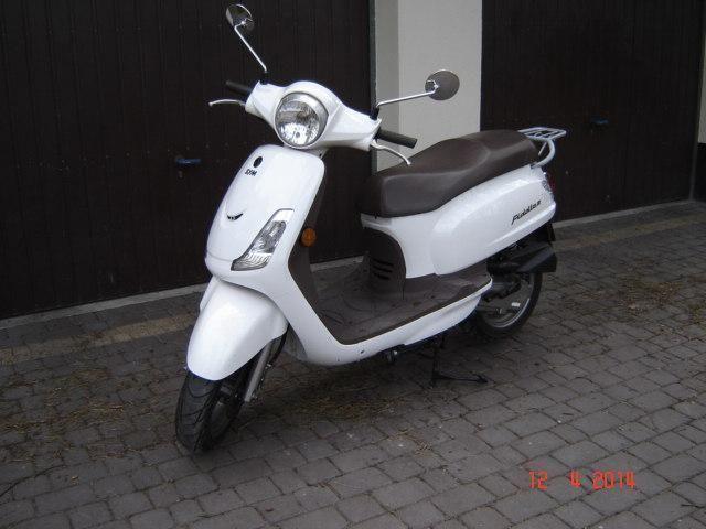 SYM FIDDLE 50 skuter mało używany