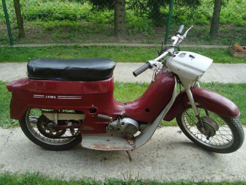 sprzedam motorower jawa 50